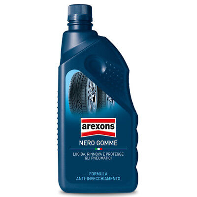 AREXONS NERO GOMME 1 Lt. rinnova colore gomme - Art. 8377