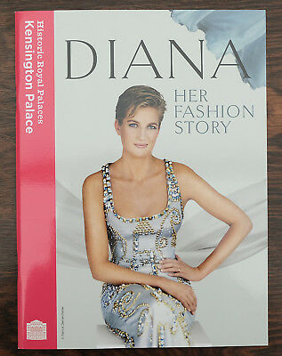 PRINCESS DIANA Her Fashion Story Kensington Palace Limited Exhibition Brochure