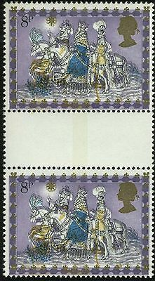 "Sg 1104 var 8p Christmas ""SHIFT OF VIOLET & OCHRE"".  A superb unmounted mint."