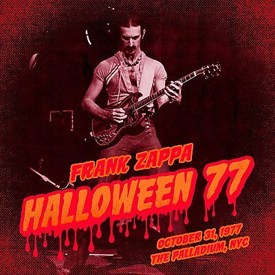 Frank Zappa	Halloween 77 3 CD SET NEW (20TH OCT)
