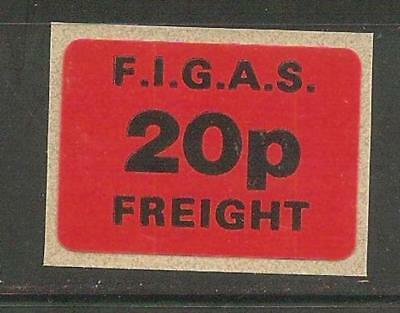 FIGAS, Freight stamp, Falkland Island Government Air Service, local issue 1980s