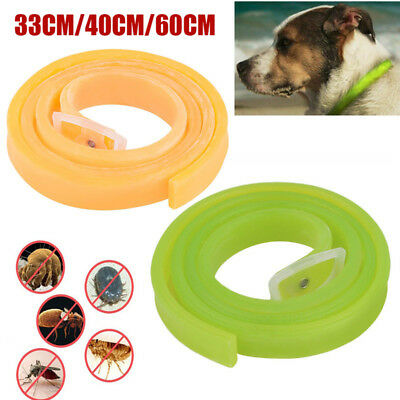 Dog Cat Repel Tick Flea Adjustable Kill Remover Pet Protection Aroma Neck Collar