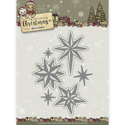 Yvonne Creations Scene Rectangle Frame Celebrating Christmas Cutting Die YCD1011