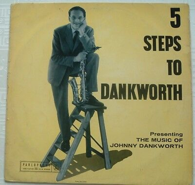 1950s UK Modern Jazz original JOHNNY DANKWORTH 5 Steps to Dankworth/Parlophone