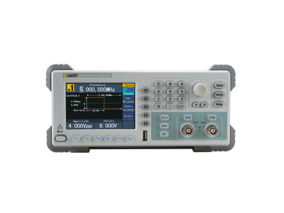 OWON AG1022F Arbitrary Waveform Function Signal Generator 25MHz 2 Channel
