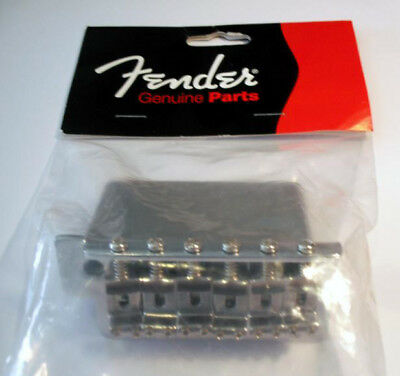 NEW Genuine Fender Strat Bridge to fit MEXICAN STANDARD ONLY