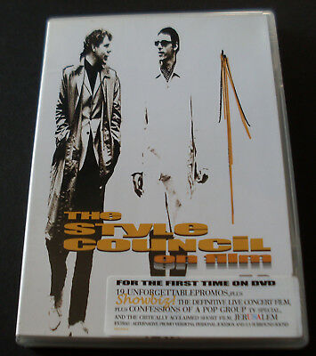 2 Dvd The Style Council On Film 2003 Plastic Case With Original Sticker + Siae