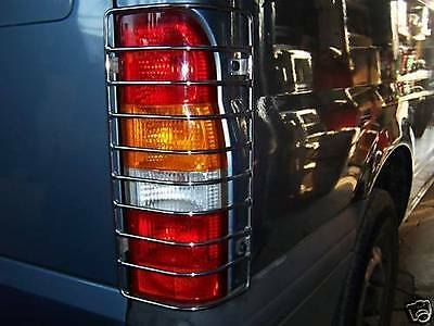 Ford Transit Mk6 Mk7 2000 - 2014 Rear Light Guards Hand Made In Uk Nylon Coated
