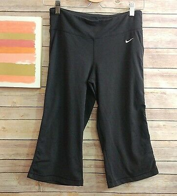Nike Dri-FIT womens pants size small black athletic pants workout yoga S