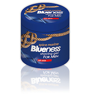 Blueness Rasiergel Shaving Gel Transparent 500ml