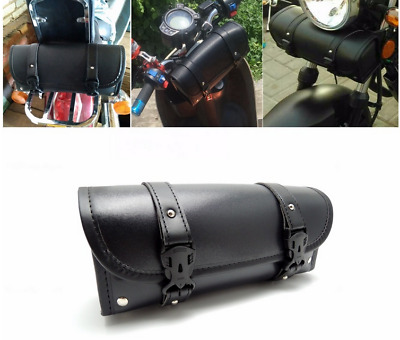 Sac de guidon bagage fourche pour moto Harley scooter sacoche stockage rangement