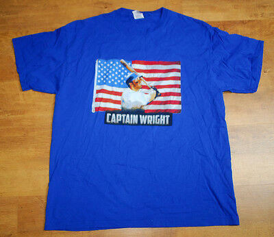 New York Mets 'Captain Wright' T shirt (Size XL)
