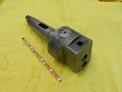 "5 MORSE TAPER - 3 1/2"" BORING HEAD mill tool holder mt bar milling"