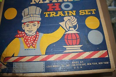 Marx Ho Train set