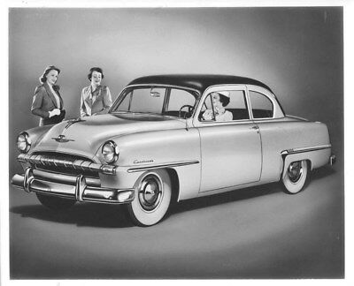 1953 Plymouth ORIGINAL Factory Photo oub8210