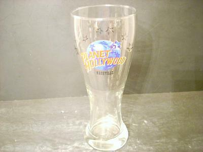 Planet Hollywood Nashville Tennessee Tall Pilsner Beer Glass  (M6)