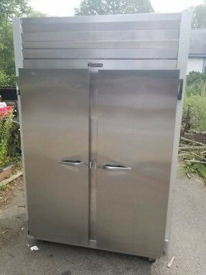 Traulsen Four Door Pass Through Stainless Steel Commercial Refrigerator