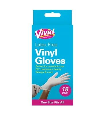 1X Latex Free Gloves - 20 Pack Quick Dispatch UK SELLER