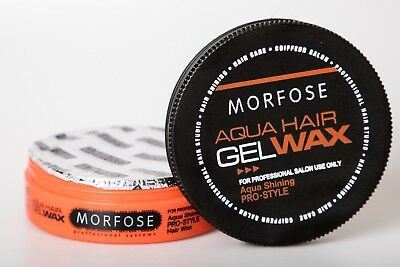 Morfose Extra Aqua Gelwax orange Melonenduft 175 ml