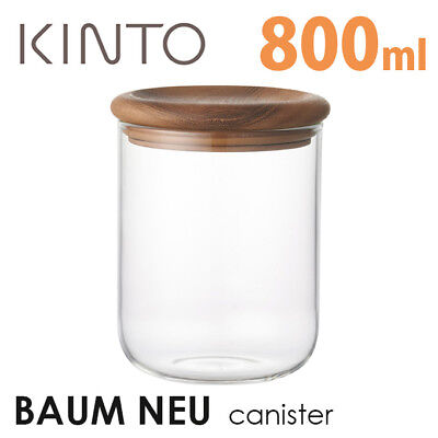 KINTO BAUM NEU Canister 800ml 0.8L 28561 Heat Resistant Glass from JAPAN