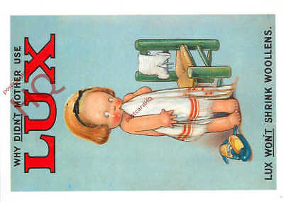Picture Postcard:-Advertising, Lux (Repro)