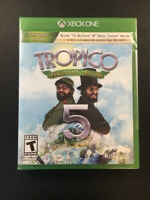 Tropico 5 : Penultimate Edition (Xbox One) Brand New & Sealed!!Video Game