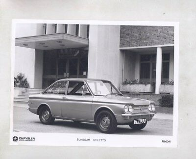 1972 Sunbeam Stiletto ORIGINAL Factory Photograph wy6307