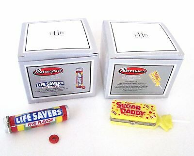 PHB Midwest of Cannon Falls Hinged Boxes  - Retrospect Sugar Daddy & Lifesavers