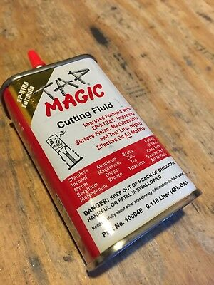 TAP Magic Aluminum Stainless Cutting Tapping Drilling Coolant Fluid 4oz