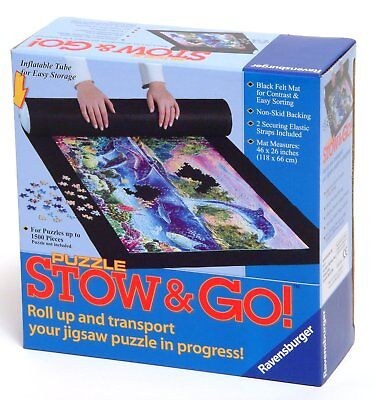 Ravensburger Puzzle - Stow & Go - Roll up tube & mat for puzzles - 81882
