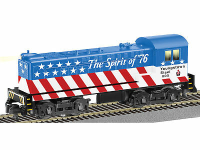 American Flyer 6-42599 S Scale Youngstown Steel Baldwin Switcher Conventional AC