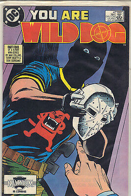 Wild Dog #4 (Dec 1987, DC)