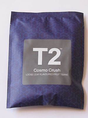 T2 - COSMO CRUSH - Loose Leaf Flavoured Fruit Tisane Tea - Limited Edition - NEW