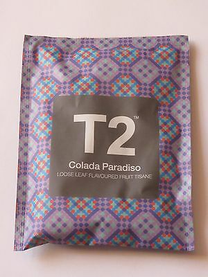 T2 - COLADA PARADISO - Loose Leaf Flavoured Fruit Tisane Tea Limited Edition NEW