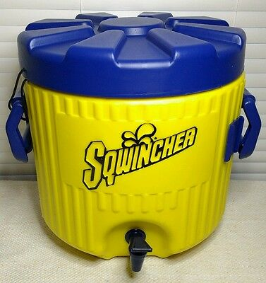 SQWINCHER Cooler Water Jug Beverage Dispenser Sports Tailgate Picnic Catering