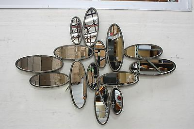 Luxury Metal Wall Decor / Art - Abstract Irregular Mirror - Large Size - On Sale