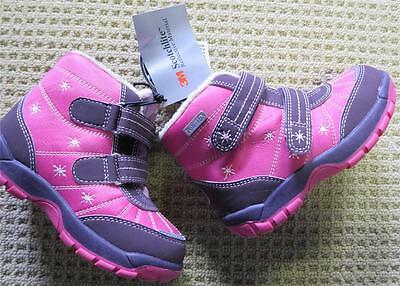Bnwt Girls' Snow Boots Size Au 5 / Eu22/us 6  16Cms Under Boot Sole