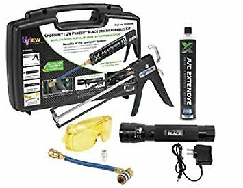 Uview 414565A Black Spotgun/UV Phazer Rechargeable Kit