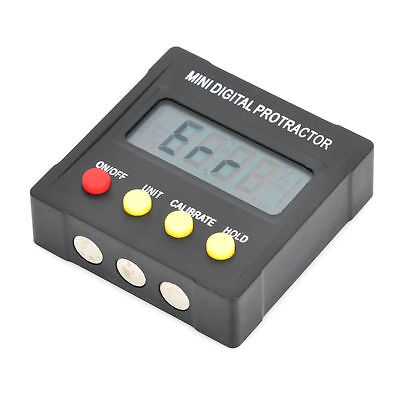 "Mini Digital 1.6"" LCD 360-Degree Protractor Inclinometer Angle Meter"