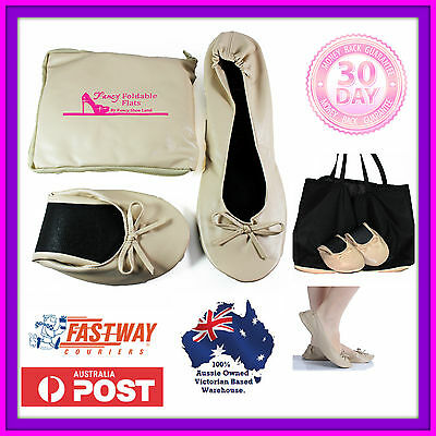 Foldable shoes ROLL UP FOLD FLATS Expandable bag for shoes size 7 8 9 10 11 12