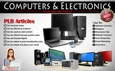 1000+ PLR Articles on Computers and Electronics Niche Private Label Rights