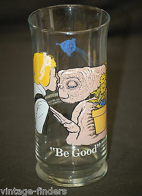 E.T. The Extra Terrestrial Advertising Drinking Glass Be Good ~ Pizza Hut