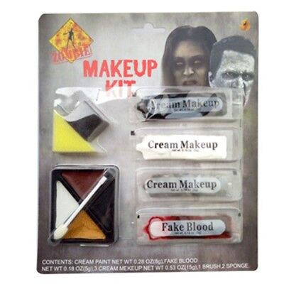Halloween Zombie Makeup Kit Face Paint Horror Special FX Effects Accessory Kit