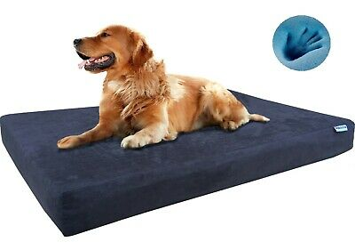 Dogbed4less Memory Foam Pet Bed for Small Medium Large XL Dog & Waterproof Case