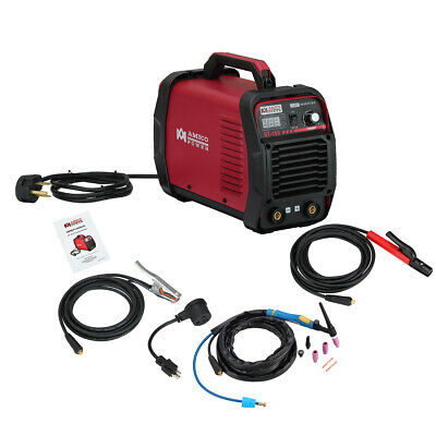 165 Amp Lift-TIG Torch/Stick/Arc DC Welder 115/230V Dual Voltage Welding ST-165