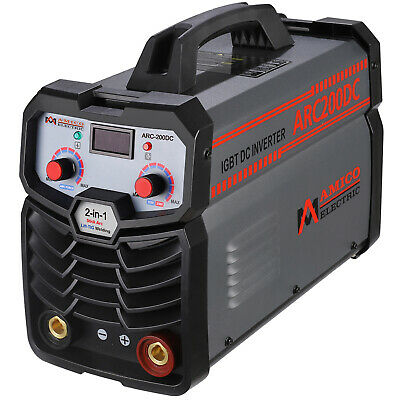 205 Amp Lift-TIG Torch/Stick/Arc DC Welder 115/230V Dual Voltage Welding ST-205