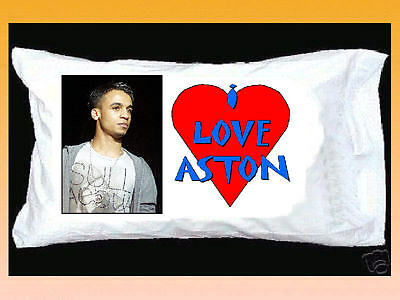 I Love Aston Merrygold Jls White Pillowcase With Red Heart