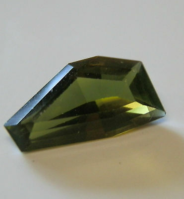 Natural earth-mined green tourmaline gemstone...2.25 carat