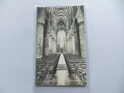 St. Magnus Cathedral, Kirkwall, Orkney, Scotland postcard - The Nave