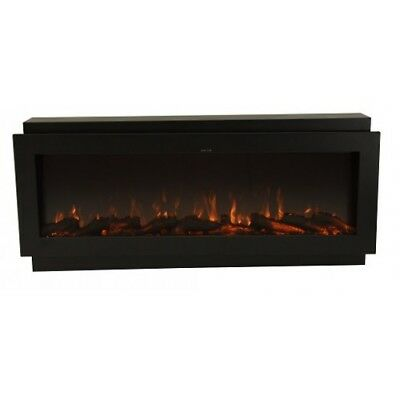 50 Inch Built-In Flush Install Multi-Color (LED) Electric Fireplace FH-50BIF-CLR